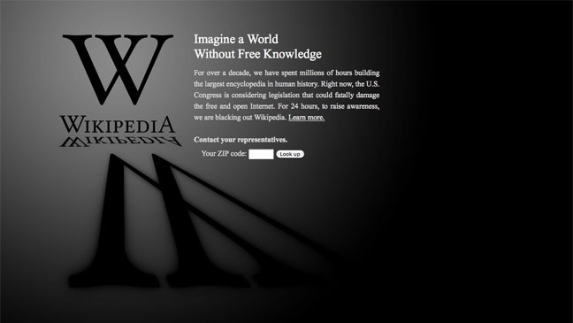 dee2a Education wikipedia blackout